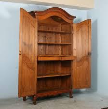Pine Gun Cabinet Wood Gun Cabinet With Etched Glass 8gun Double Door Solid Oak