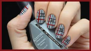 give this awesome plaid nail art featured in girls life magazine a
