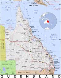map of queensland qld queensland domain maps by pat the free open