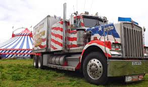 kenworth trucks for sale uk circus mania uncle sam u0027s great american circus trucks in taverham