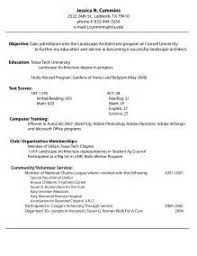 Biology Sample Resume by Example Cover Letter For Biologist