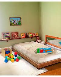 Floor Bed Frame Best Montessori Bed Ideas On Toddler Floor Bed Toddler Floor Bed