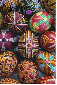 traditional cross designs from different areas of pysanka