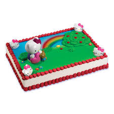 hello kitty bubble blower cake via publix cakes the sweetest
