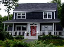 exterior cool home exterior decoration with white house with grey