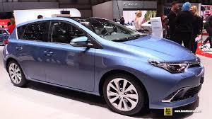 toyota auris 2016 toyota auris exterior and interior walkaround 2015 geneva