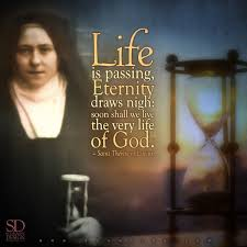 st therese u2026victim of love i want to see god