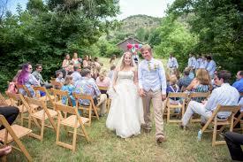 backyard wedding outside denver co in morrison by red rocks park