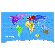 buy continents and countries map signboards tts