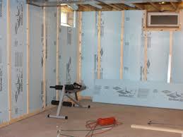 Basement Wall Ideas Fantastic Finishing Basement Walls Ideas With Wall Unfinished