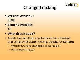 Sql Server Audit Table Changes A Comparative Analysis Of Auditing Solutions In Sql Server