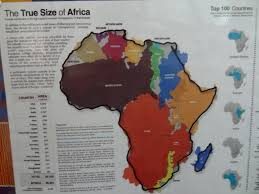 True Size World Map by Elder Nissinen August 2015