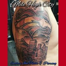 mile high broncos tattoo denver colorado yelp