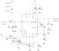 audio amplifier mono with ic tda7293 watts xtronic power circuit