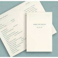 wedding program paper kits 12 best wedding programs images on wedding fans