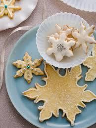 snowflake sugar cookies snowflake cookies recipe paula deen food network