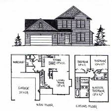 2 story floor plans with garage simple 2 story house floor plans home decor ideas
