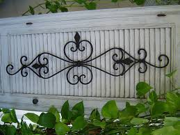 interesting design wrought iron outdoor wall decor projects