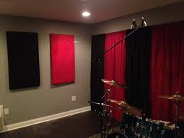 Curtains Music Diy Sound Proof Panels Step By Step Soundproof Panels Music