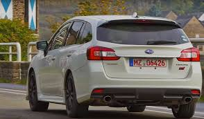 white subaru wagon subaru levorg sti confirmed likely jdm only video