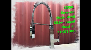 home depot review grohe kitchen faucet flex limitations youtube