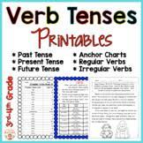 verb tense worksheets teaching resources teachers pay teachers
