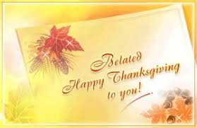 belated thanksgiving whatsapp sms text messages wishes