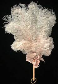 ostrich feather fans fans as wedding accessories cool breezes handheld fans in