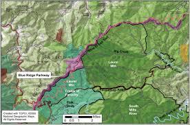Shining Rock Wilderness Map North Carolina U0027s Mountain Treasures Laurel Mountain Area