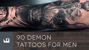 90 demon tattoos for men youtube
