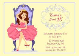 sweet 16 birthday invitation printable u2013 orderecigsjuice info