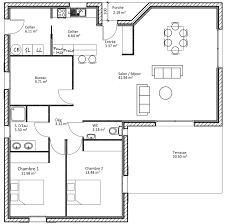 plan d une chambre plan maison 4 chambre ravissant plan de construction d une maison