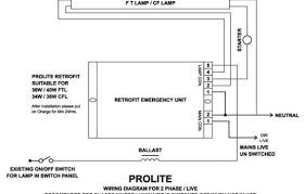 fluorescent emergency ballast wiring diagram fluorescent