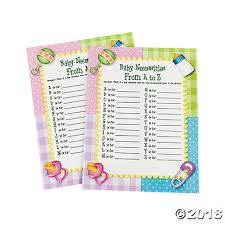 baby necessities a to z baby shower