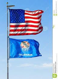 Flag Of Oklahoma Usa And Oklahoma Flags Stock Photo Image Of National 81662270