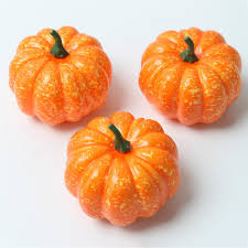 foam pumpkins 3 pcs artificial mini pumpkins vegetable wedding party