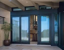 Custom Sliding Patio Doors Wood Bi Parting Sliding Patio Doors With Matching Transoms Custom