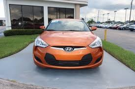 Hyundai Used Cars New Port Richey Hyundai Veloster Vitamin C In Florida For Sale Used Cars On