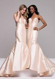 fitted bridesmaid dresses mermaid bridesmaid dresses
