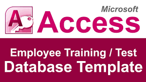Excel Database Templates Free Employee And Test Tracking Database Template