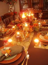 setting a table for thanksgiving dinner my web value