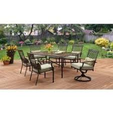 Patio Furniture From Walmart by Better Homes And Gardens Paxton Place 7 Piece Outdoor Dining Set