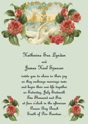 Jewish Wedding Invitations Dove Wedding Invitations
