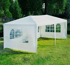 how many tables fit under a 10x20 tent outsunny 10 x 20 ft wedding party tent cing gazebo canopy w 4