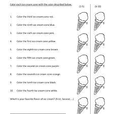 first grade ordinal numbers worksheet 10 u2013 one page worksheets