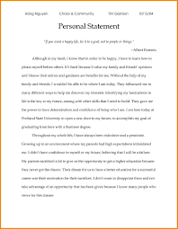 5 examples of personal statements for scholarship applications