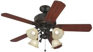 indoor ceiling fans with lights harbor breeze l2b1 edenton 52 in aged bronze indoor ceiling fan w