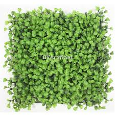 four leaf clover artificial wall panel in 25x25cm dongyi
