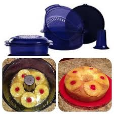 hi ho hi ho with tupperware we go pineapple upside down cake in