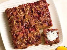 cranberry pumpkin upside down cake recipe myrecipes
